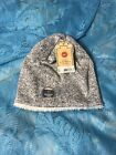NWT $20 Urban Pipeline Men's OSFM Grey Speckled Sherpa Lined Beanie