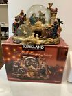 Kirkland Christmas Nativity Musical Waterglobe With Three Songs Used Fine Shape