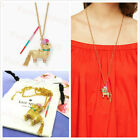 NWT KATE SPADE 12K Gold Plated Scenic Route Penny The Piata lama Necklace