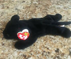 GUARANTEED AUTHENTIC VELVET PANTHER TY BEANIE BABY BABIES  PVC 1995 STYLE 4064