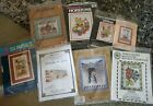 Vntg Counted Cross Stitch Kits LOT OF 8 All Southwest  Native American Themed