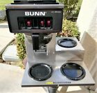 Bunn VP17 3 Automatic 12 Cup Coffee Brewer With 3 Warmers Used Good Condition