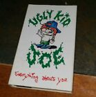 Ugly Kid Joe : Everything About You  Cassette Single