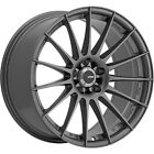 4 18x8 Gray Wheel Konig Rennform 5x425 40
