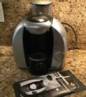 BRAUN TASSIMO MODEL 3107 ONE CUP COFFEE TEA CAPPUCCINO MAKER SILVER PERF COND
