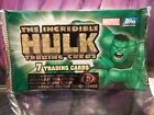 Incredible Hulk Trading Cards sealed pack TOPPS Marvel NEW NM NM