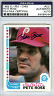 Pete Rose Baseball Cards, Rookie Card and Autographed Memorabilia Guide 40