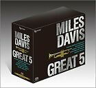 ESOTERIC SACD MILES DAVIS GREAT 5 Japan SACD Super Audio Hybrid BOX SET LTD NEW