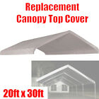 20 x 30 feet Roof Top Cover White Tarp for Replacement Outdoor Canopy Heavy Duty