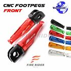 For Aprilia RSV 1000 R Mille 03-08 R Factory 06-08 CNC Rider Footpegs Footrests