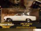 RARE Limited ED 1967 Buick GS400 in White by Ertl, FREE SHIP!