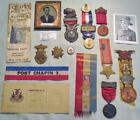 Collection Charles Orr Medal Of Honor, Pension Agt, NY GAR Commander, Buffalo,NY
