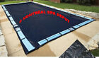 In ground pool WINTER COVER DELUXE rectangle 20 x 40 with tube holding straps