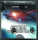 2014 STAR TREK MOVIES INTO DARKNESS SEALED BOX 2 AUTO'S PR BX CHRIS PINE CUMBER.
