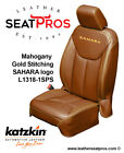 Katzkin Leather Seat Covers 2013-18 Jeep Wrangler Jk 2 4 Door Mahogany Sahara