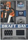 A.J. Green Cards, Rookie Cards and Memorabilia Guide 30