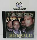 NDANGERED SPECEZ- BEHOLD CD 5 TRACK ALBUM COMMON CAUSE/S.O.U.L ENT. VERY RARE
