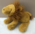 NEW Jellycat Medium Smudge Lion Soft Toy Comfort Baby Yellow Brown Soother BNWOT