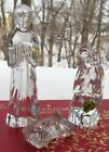 Waterford Crystal Nativity Holy Family Set New in Box