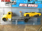 WRECKER AND CAR  2013 MAISTO FRESH METAL METAL MOVERS 164 DIE CAST