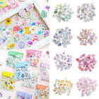 45Pcs DIY Kawaii Journal Diary Decor Flower Stickers Scrapbooking Stationery US