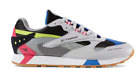 Reebok Mens Classic Leather ATI 90s Grey Black Pink Shoes Sneakers DV5375