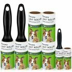 Lint Roller Pet Hair Remover Extra Sticky Rollers with Travel Mini Tape Roller f