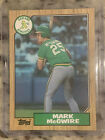 Mark McGwire Signs Autograph Deal with Topps 13