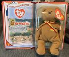 Ty Beanie Baby Germania The Bear Collector's McDonald's Date Errors Mint Sealed