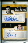 Carrie Fisher Daisy Ridley 2017 Leaf Dual AUTO GOLD 1 1 Rey & Leia Star Wars