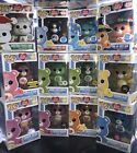 12 Funko Pop Care Bears Collection Set Exclusives,GITD,Chase,Common - Rare