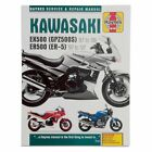 Kawasaki EX500 GPZ500S 1987-2008 & ER500 ER-5 1997-2007 Repair Manual