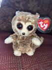 """Ty Beanie Babies Peepers The Bush Baby 2009 6"""" Mint With Mint Tag Rare Big Eyes"""