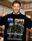 15 YEARS OF SUPERNATURAL THANK YOU FOR THE MEMORIES SHIRT S 5XL HOT