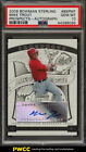 2009 Bowman Sterling Prospects Mike Trout ROOKIE RC AUTO PSA 10 GEM MINT (PWCC)
