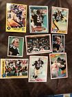 9 JACK LAMBERT All Different STEELERS Card Lot 1978 1980 1981 1982 83 84 85