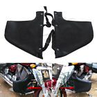 For Victory Kingpin Vegas 8Ball Jackpot L&R Engine Guard Chaps Soft Lowers Black