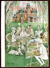 The New Yorker Magazine July 31 1948 Mary Petty Family Portrait Tea Time