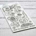Squirrel Animal Metal Cutting Dies and Clear Stamps DIY Scrapbooking Craft