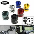Aluminum Motorcycle Brake Clutch Master Cylinder Fluid Reservoir Tank Oil Cup