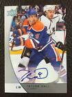 2012-13 Upper Deck Universal GTS Promos Taylor Hall Auto Oilers Autograph