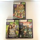 3 Xbox 360 Kinect Games Lot Kinect Adventures Dance Central Biggest Loser