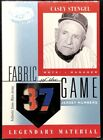Top 10 Casey Stengel Baseball Cards 19