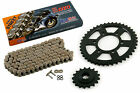 2003 2004 Kawasaki ZRX1200R ZR1200A CZ DZO O-Ring Chain and Sprocket 17/42 120L