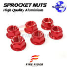 Wheel Sprocket Nuts M10 For Honda CB400 F2 Super Four 92-11 CBR954RR Fireblade