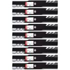 9PK USA Toothed Mulching Mower Blades for 48 John Deere E170