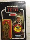 STAR WARS Vintage HAN SOLO IN TRENCH COAT Return of the Jedi 77 Back 1984 ROTJ