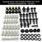 Complete Fairing Bolt Kit Screws For Kawasaki Ninja1000 Z1000S Z1000SX 2011-2019