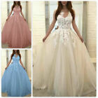 Womens Wedding Formal Dresses Bridesmaid Evening Party Ball Gown Prom Long Dress