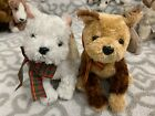 TY Beanie Babies: KIRBY West Highland Terrier & FIDGET the Terrier Dogs! MWMT!